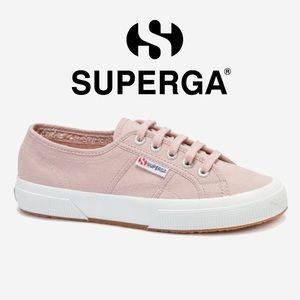 Superga Cotu 2750 Trainers in Pink Smoke